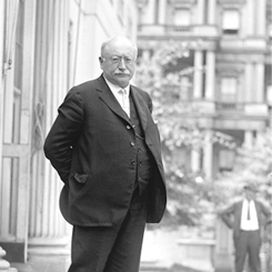 Representative Victor Berger of Wisconsin, the First Socialist Member of Congress