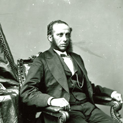 Representative Robert De Large of South Carolina
