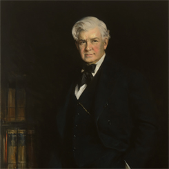 Speaker of the House Henry Rainey of Illinois