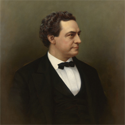 Speaker of the House Samuel Randall of Pennsylvania