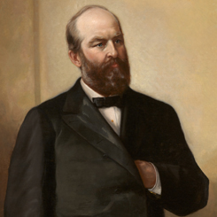 The Election of President James Garfield of Ohio
