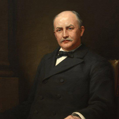 Speaker of the House Charles Crisp of Georgia