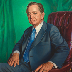 Speaker of the House Carl Albert of Oklahoma