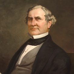 Speaker of the House William Pennington of New Jersey