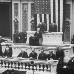 A Joint Session to Commemorate the Birthday of George Washington