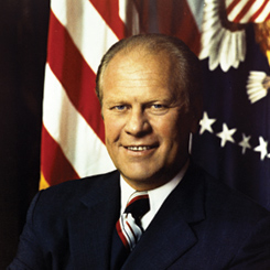 Representative and President Gerald R. Ford of Michigan