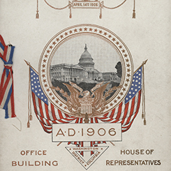 The Original House Office Building was Completed