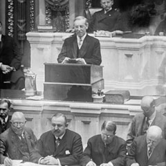 President Woodrow Wilson's 1913 Joint Session