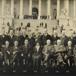 Photo of the 65th Congress (1917–1919)