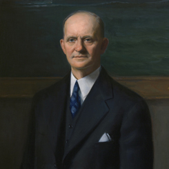 The House Unveiled a Portrait of Georgia Representative Carl Vinson