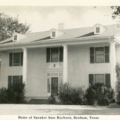The Speaker election of Sam Rayburn of Texas