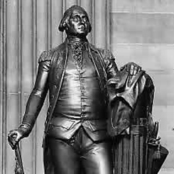 The addition of the statue of President George Washington to the National Statuary Hall Collection