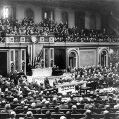 President Woodrow Wilson's Joint Session Outlined His Vision for a Program for World Peace