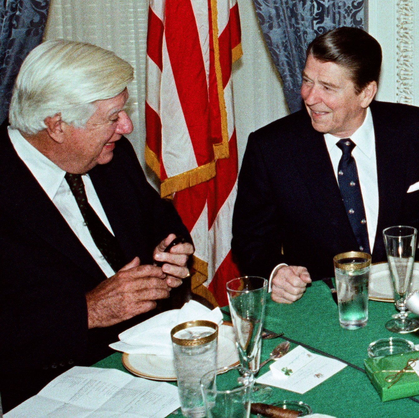 President Ronald Reagan's Denied Request to Address the House