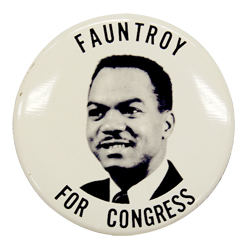 Delegate Walter Fauntroy of the District of Columbia