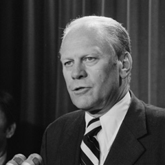 President Gerald R. Ford's First Joint Session of Congress