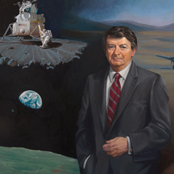 The House Portrait of Science and Technology Committee Chairman Don Fuqua