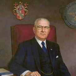 The House portrait of Armed Services Committee Chairman F. Edward Hébert