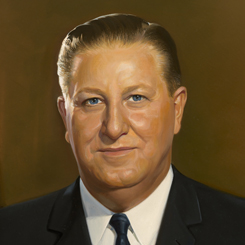 The House of Representatives Unveils a Portrait of Thomas E. Morgan