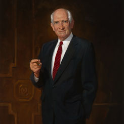The Portrait of Jack Brooks of Texas
