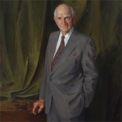 The Portrait of Judiciary Committee Chairman Jack Brooks