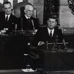President John F. Kennedy's First State of the Union Address