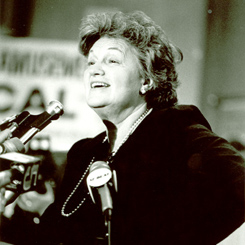 Representative Sala Burton of California