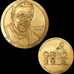 Charles M. Schulz Receives a Congressional Gold Medal