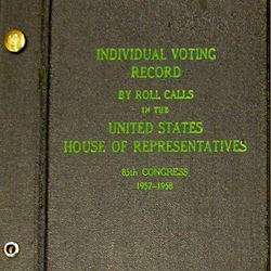 The House Sets a Record for Roll Call Votes Prior to Electronic Voting