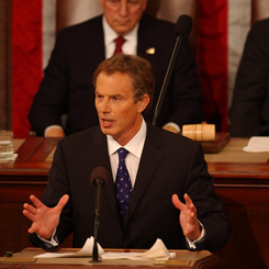 An Address by Prime Minister Tony Blair of the United Kingdom to a Joint Meeting of Congress
