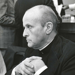 Father Robert Frederick Drinan of Massachusetts, the First Catholic Priest to Serve as a Voting Member