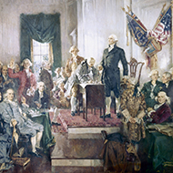 Delegates of the Continental and Confederation Congresses Who Signed the United States Constitution