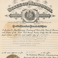 Missouri's Ratification of 19th Amendment