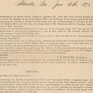 Petition in Favor of the Civil Rights Act of 1875