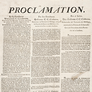 Proclamation to People of New Orleans