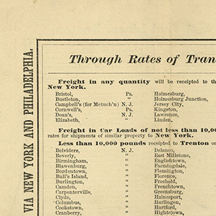 Railway Joint Tariff
