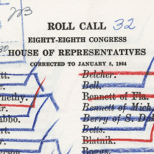 Call Book for Civil Rights Act of 1964