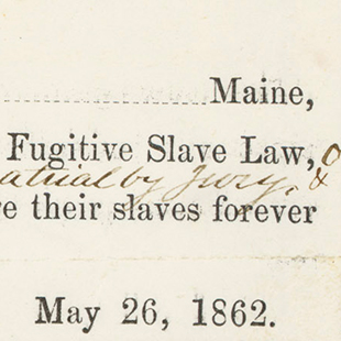 Repeal Fugitive Slave Law