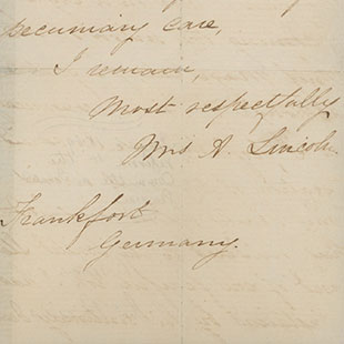 Petition of Mary Todd Lincoln