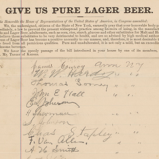 Give Us Pure Lager Beer Petition